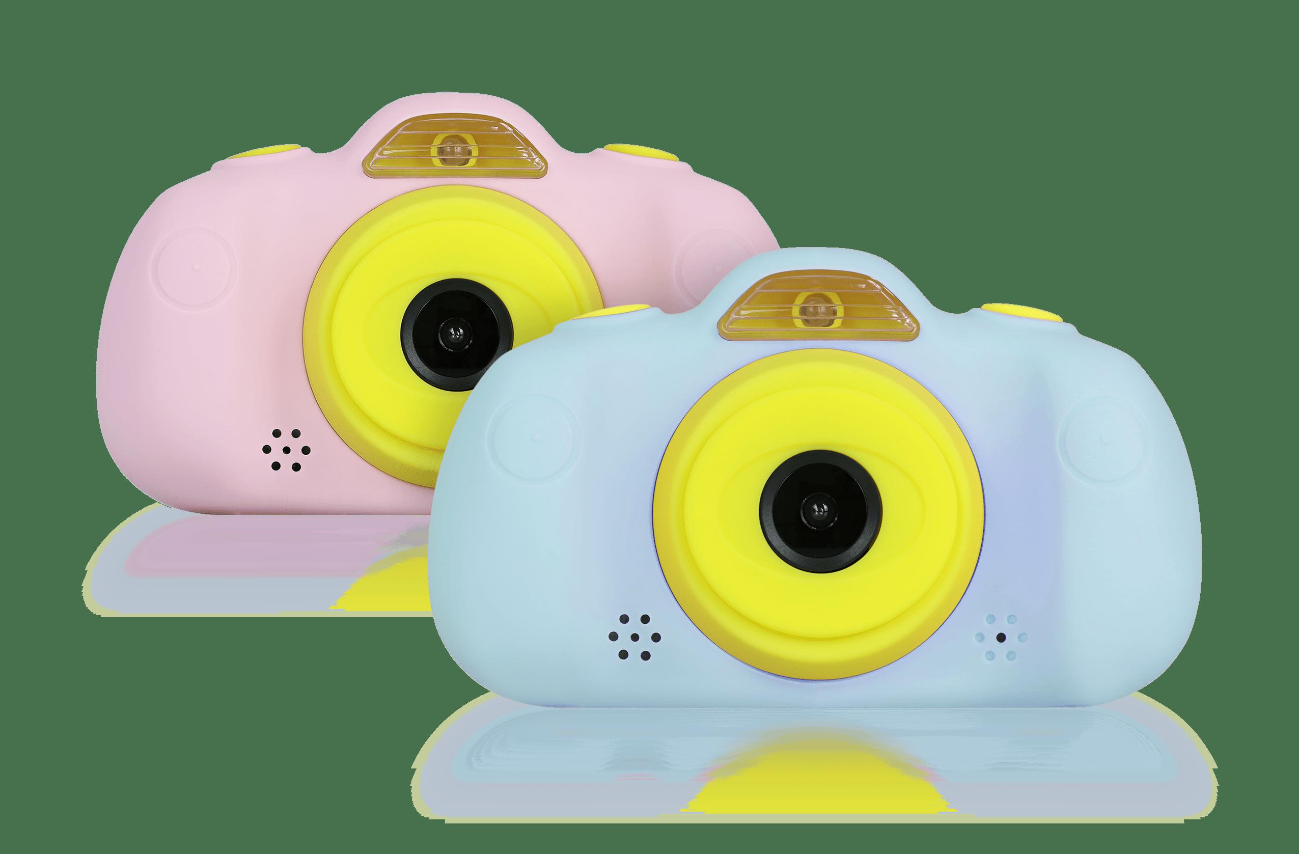 camara de fotos para niños savefamily azul y rosa