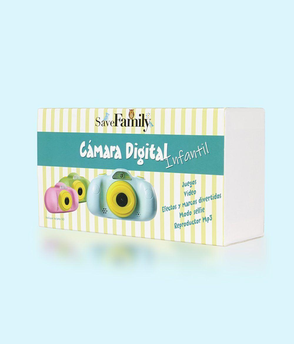 camara de fotos para niños savefamily cámara caja azul