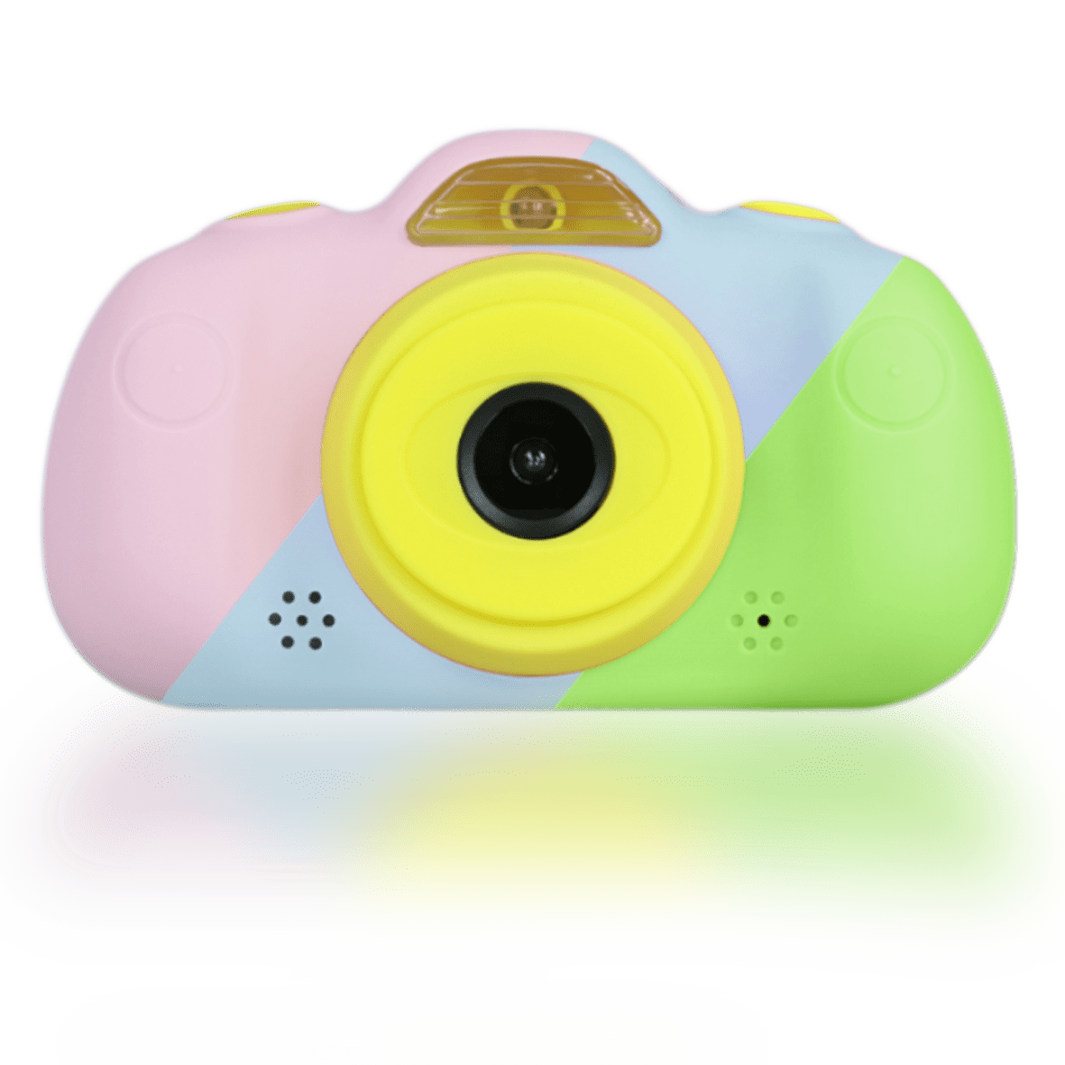 camara de fotos para niños rosa azul verde savefamily